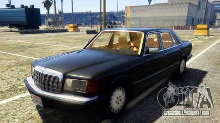 1987 Mercedes-Benz 560SEL para GTA 5