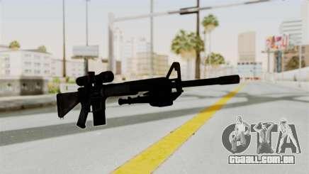 M16 Sniper para GTA San Andreas