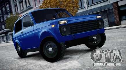 Niva 2015 Aze style para GTA 4