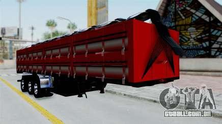 Kenworth T800 Carreta de Arena para GTA San Andreas