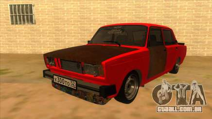 VAZ 2105 de Combate Clássicos para GTA San Andreas