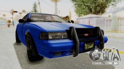 GTA 5 Vapid Stanier II Police Cruiser 2 para GTA San Andreas