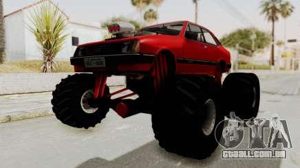 Chevrolet Chevette SL 1988 Monster Truck para GTA San Andreas