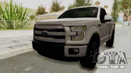 Ford Lobo XLT 2015 Single Cab para GTA San Andreas