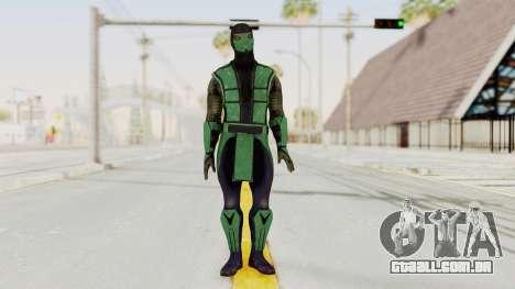 Mortal Kombat X Klassic Reptile para GTA San Andreas segunda tela