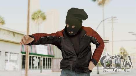 GTA 5 DLC Heist Robber para GTA San Andreas