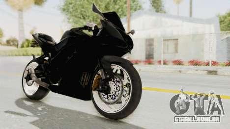 Kawasaki Ninja 250RR Mono Sport para GTA San Andreas vista direita