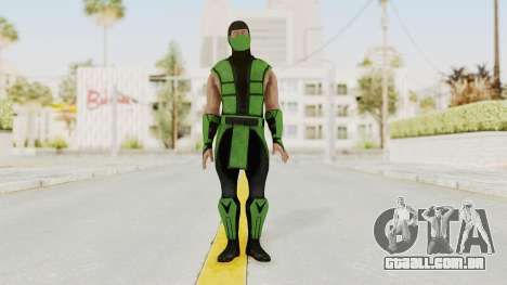 Mortal Kombat X Klassic Human Reptile para GTA San Andreas segunda tela
