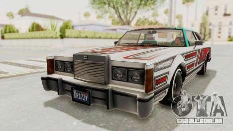 GTA 5 Dundreary Virgo Classic Custom v3 IVF para o motor de GTA San Andreas