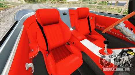 GTA 5 Eagle Speedster 2012 volante