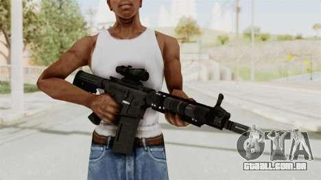M4A1 SWAT para GTA San Andreas terceira tela