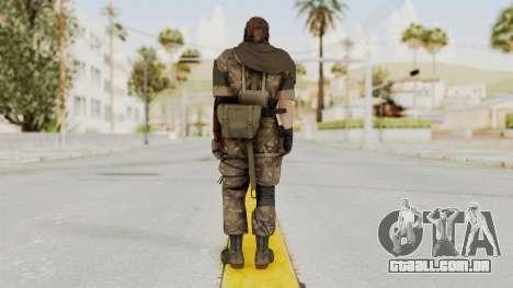 MGSV The Phantom Pain Venom Snake Scarf v9 para GTA San Andreas terceira tela