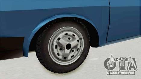 Dacia 1310 MLS 1988 Stock para GTA San Andreas vista traseira