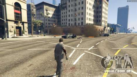 GTA 5 Air Strike 0.1 segundo screenshot