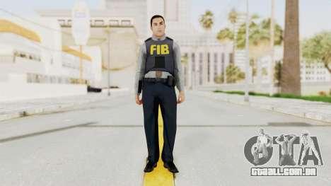 GTA 5 F.I.B. Ped para GTA San Andreas segunda tela