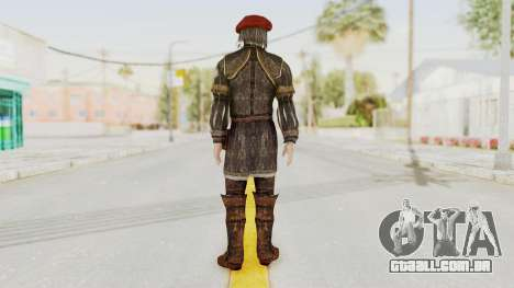 AC Brotherhood - Leonardo Da Vinci Fixed para GTA San Andreas terceira tela