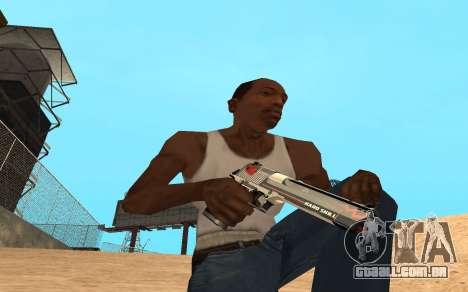 Desert Eagle Cyrex para GTA San Andreas