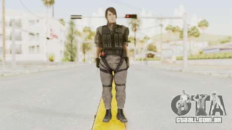 MGSV Phantom Pain Quiet XOF v1 para GTA San Andreas segunda tela