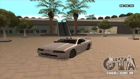ENB Double FPS & for LowPC para GTA San Andreas oitavo tela