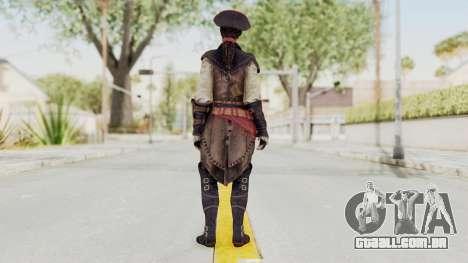 Assassins Creed 4 DLC - Aveline de Grandpré para GTA San Andreas terceira tela
