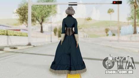 Bioshock Infinite Elizabeth Old para GTA San Andreas terceira tela