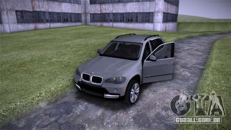 BMW X5 E70 para GTA San Andreas vista interior