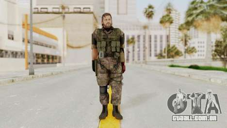 MGSV The Phantom Pain Venom Snake No Eyepatch v6 para GTA San Andreas segunda tela
