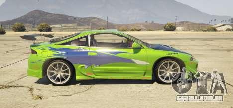 1995 Mitsubishi Eclipse GSX para GTA 5