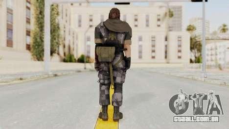 MGSV The Phantom Pain Venom Snake Scarf v7 para GTA San Andreas terceira tela
