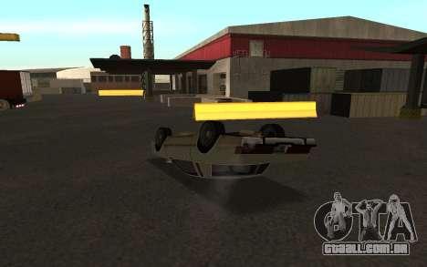 Flip máquina para GTA San Andreas terceira tela