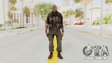 COD Black Ops 2 Hudson Commando para GTA San Andreas segunda tela