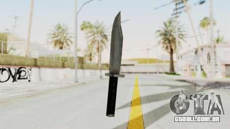 Liberty City Stories - Knife para GTA San Andreas segunda tela