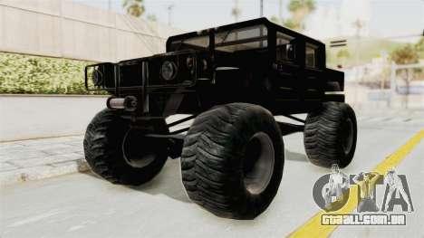 Hummer H1 Monster Truck TT para GTA San Andreas vista direita
