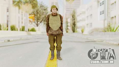 MGSV The Phantom Pain Soviet Union VH Sleeve v1 para GTA San Andreas segunda tela