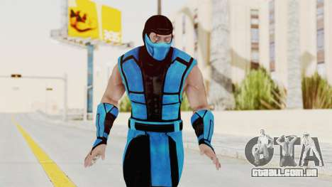 Mortal Kombat X Klassic Sub Zero UMK3 v1 para GTA San Andreas
