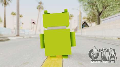 Crossy Road - Android Robot para GTA San Andreas terceira tela