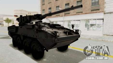 M1128 Mobile Gun System IVF para GTA San Andreas