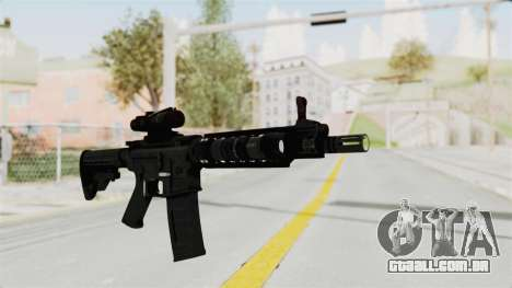 M4A1 SWAT para GTA San Andreas