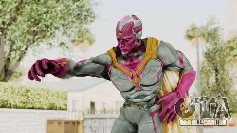 Captain America Civil War - Vision para GTA San Andreas
