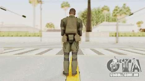 MGSV Ground Zeroes MSF Medic para GTA San Andreas terceira tela