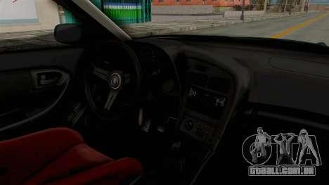 Toyota Celica GT Drift Falken para GTA San Andreas vista interior