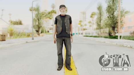 Alan Wake - Tor Anderson para GTA San Andreas segunda tela