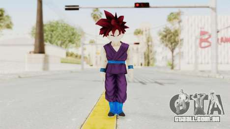 Dragon Ball Xenoverse Gohan Teen DBS SSG v1 para GTA San Andreas segunda tela