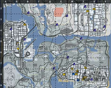 O interior de STO San Fierro para GTA San Andreas terceira tela