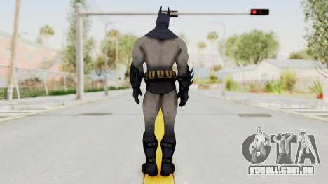 Batman Arkham City - Batman v2 para GTA San Andreas terceira tela