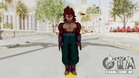 Dragon Ball Xenoverse Vegito SSJ4 para GTA San Andreas segunda tela