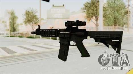 M4A1 SWAT para GTA San Andreas segunda tela