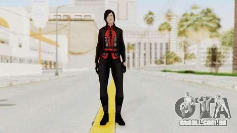 Batman Arkham Origins - Lady Shiva para GTA San Andreas segunda tela