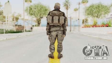 COD BO SOG Mason v2 para GTA San Andreas terceira tela