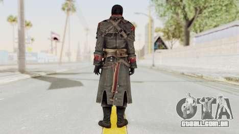 Assassins Creed Rogue - Shay Cornac para GTA San Andreas terceira tela